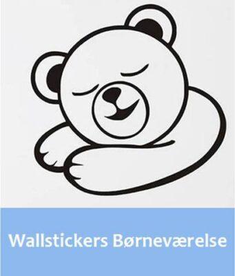 Wallstickers til børneværelse