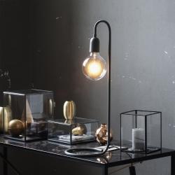 Globepære Lampe Sort Lampe Fra H. Skjalm P