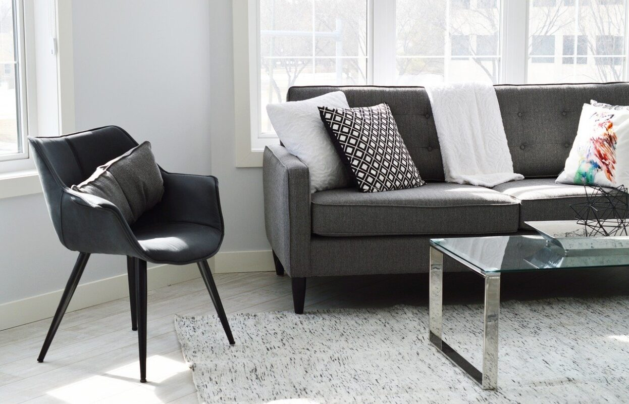 Sofa i indretningen