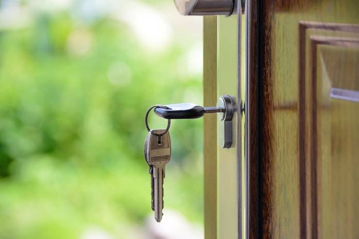 Nøgle i døren